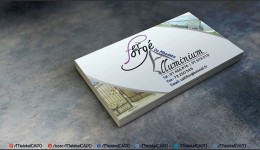 Conception Carte Visite \ Business Card