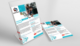 I will design your brochure