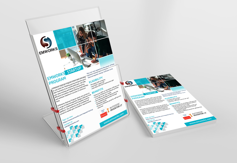 I will create your logo, brochure or newsletters
